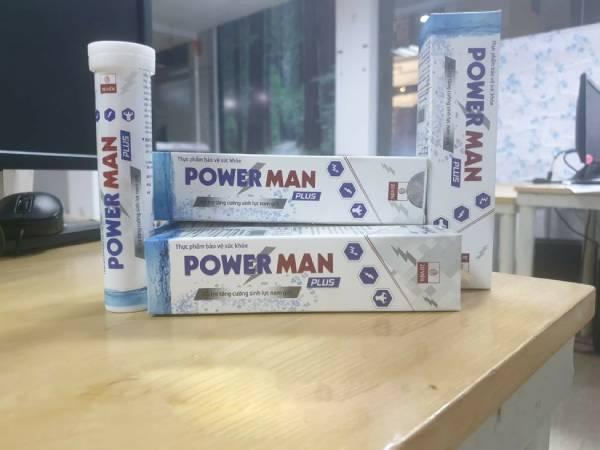 viên sủi power man tăng cường sinh lý nam