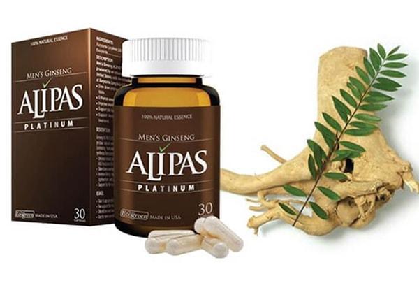 Hình ảnh sản phẩm viên sâm Alipas