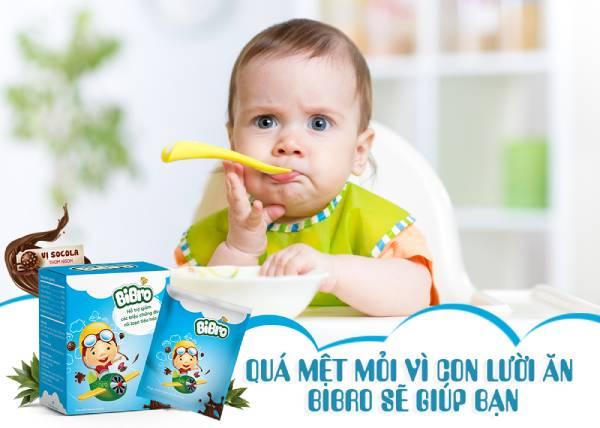 bé ăn ngon miệng và khỏe mạnh hơn