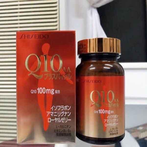 Shiseido có chứa Coenzyme Q10