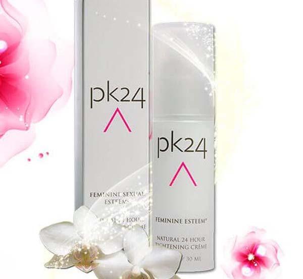 làm hồng vùng kín bằng pk24