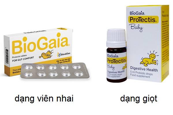 dạng sản phẩm BioGaia ProTectis