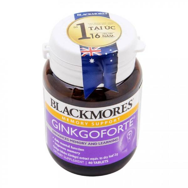 blackmores ginkgoforte có hiệu quả không?