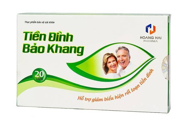 thuốc điều trị rối loạn tiền đình Tiền Đình Bảo Khang có tốt không?
