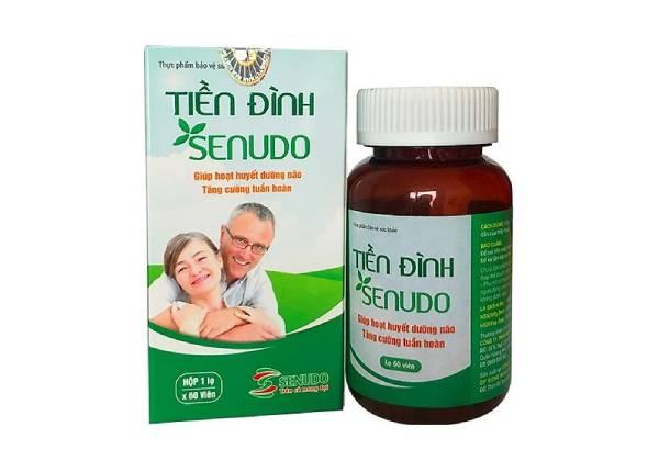 thuốc rối loạn Tiền Đình Senudo cải thiện tình trạng thiếu máu lên não