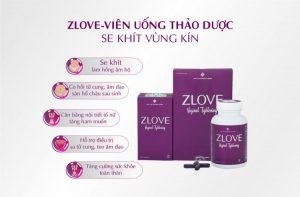 Zlove với thành phần chiết xuất từ nhân sâm cùng rất nhiều loại thảo dược khác mang tới nhiều công dụng rất tốt cho phụ nữ